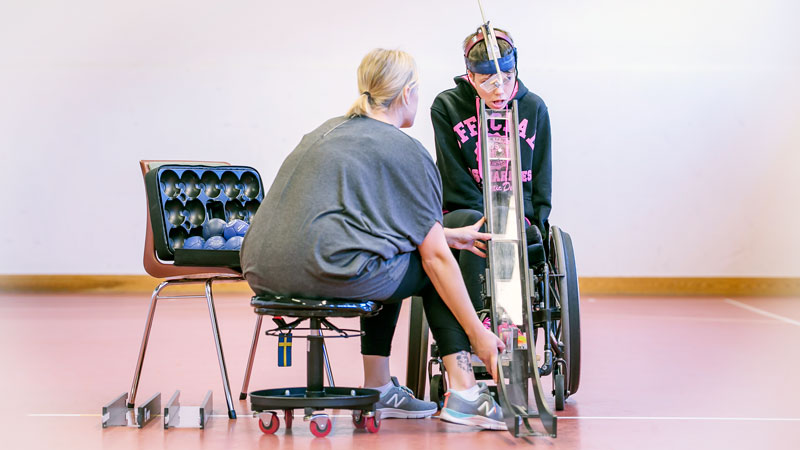 Personlig assistans idrott – Omsorgsgruppen